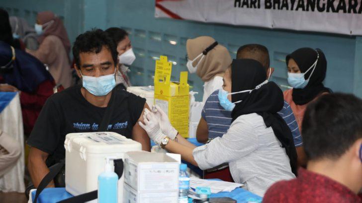 Gerai Vaksin Presisi Polresta Tangerang Gelar Vaksinasi untuk 1.783 Orang