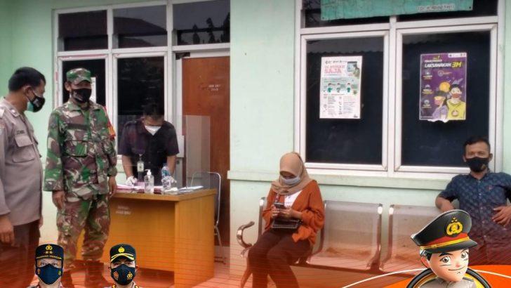 Polresta Tangerang Kawal Pelaksanaan Vaksinasi Massal di Puskesmas Rajeg