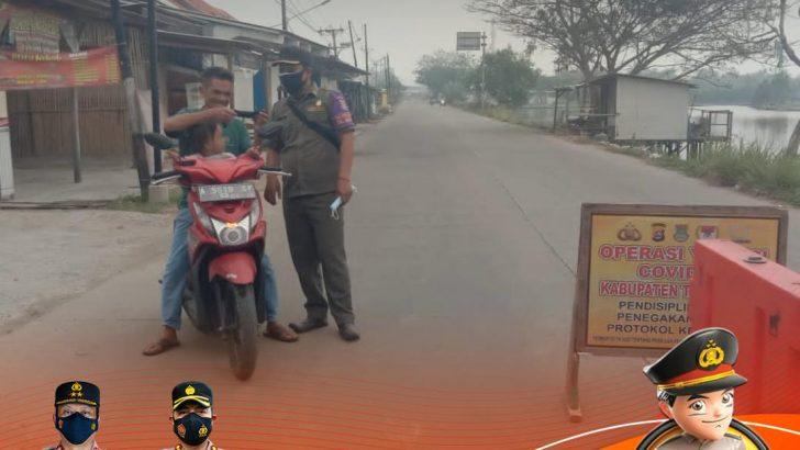 Tegakkan PPKM Level 4, Polresta Tangerang dan 3 Pilar Laksanakan Penyekatan di Wilayah Perbatasan