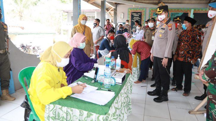Apresiasi Mahasiswa, Kapolresta Tangerang Tinjau Kegiatan Vaksinasi di Ponpes Al-Ma'mur Solear