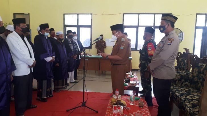 Pembukaan MTQ Tingkat Kecamatan, Polsek Kronjo Polresta Tangerang Lakukan Pengamanan dan Pengawasan Prokes.