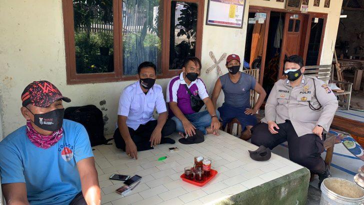 Bhabinkamtibmas Polsek Mauk Polresta Tangerang Sambang Warga Gunung Sari