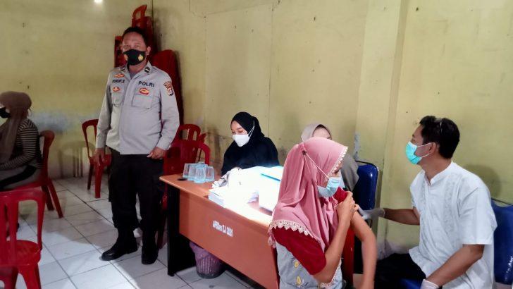 Polsek Kronjo Polresta Tangerang Percepat Vaksinasi Covid-19 Kepada Masyarakat.